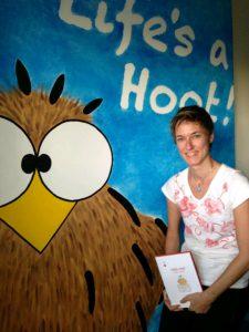 Karin Pinter & niki owl