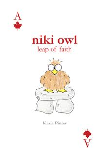 Niki Owl Leap of Faith, by Karin Pinter