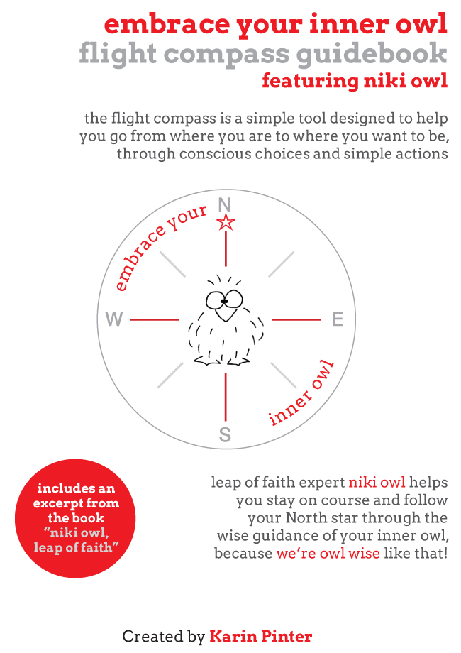 embrace your inner owl flight compass guide